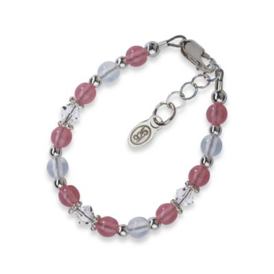 Baby Jewelry > Cherished Moments Sterling Silver Pink Bracelet