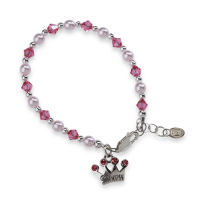 Cherished Moments Princess Tiara Medium Bracelet