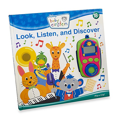 Baby Einstein® Look, Listen and Discover Play-a-Song Book