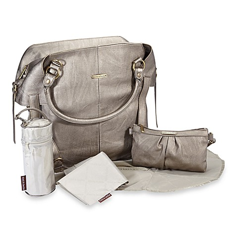 timi & leslie® Charlie Diaper Bag in Pewter