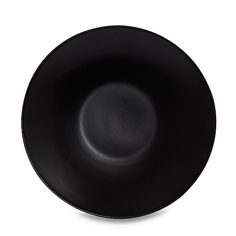 Gibson Home Paradiso 11-Inch Dinner Plate in Black