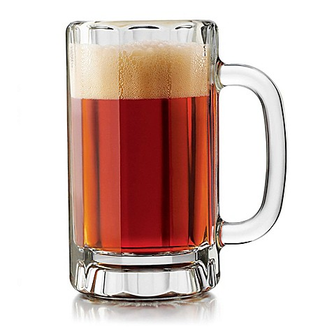 Dailyware™ 16 oz. Beer Mug (Set of 4)