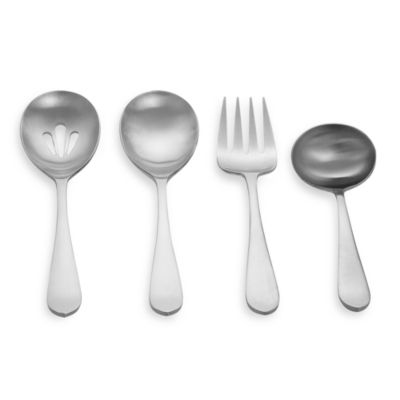 Cambridge® Silversmiths Meridian/Glacier 4-Piece Hostess Set