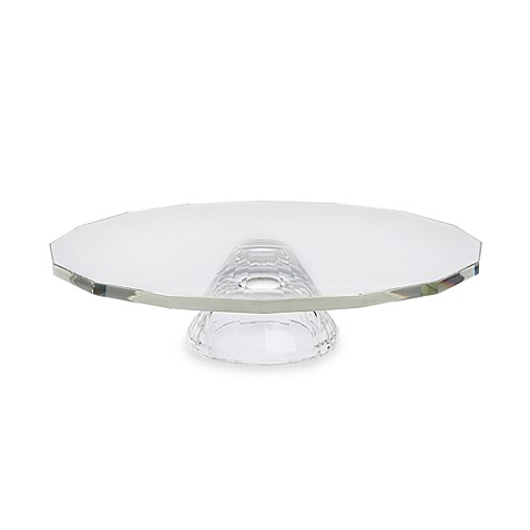 Oleg Cassini Footed Cake Plate/Crudite