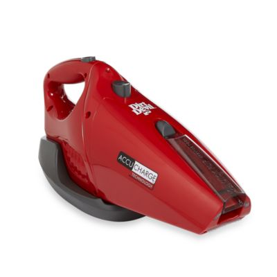 Dirt Devil® AccuCharge® Hand Vac in Red