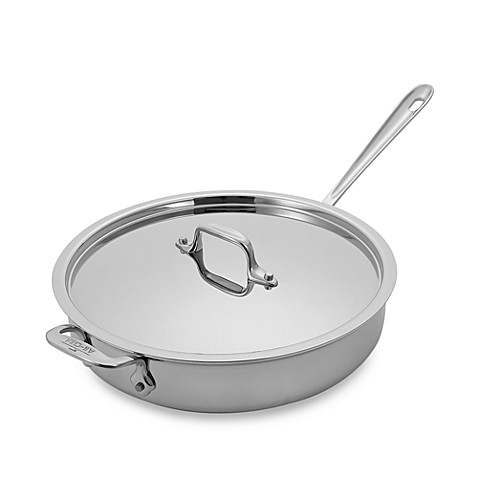All-Clad 3-Quart Stainless Steel Saute Pan