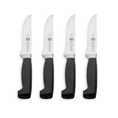 Zwilling J.A. Henckels Four Star 4-Piece Steak Knife Set