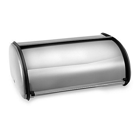 Polder® Bread Box in Chrome