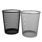 Seville® Mesh Metal Trash Cans