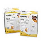Medela® Pump & Save Breast Milk Bags With Easy-Connect Adapter