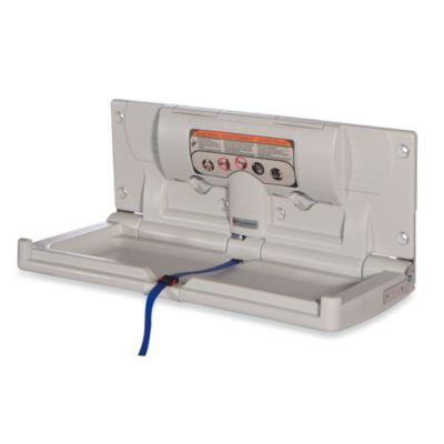 Foundations® Horizontal Polyethylene Diaper Changing Station