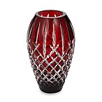 Waterford® Crystal Araglin Prestige Ruby Red 9-Inch Vase