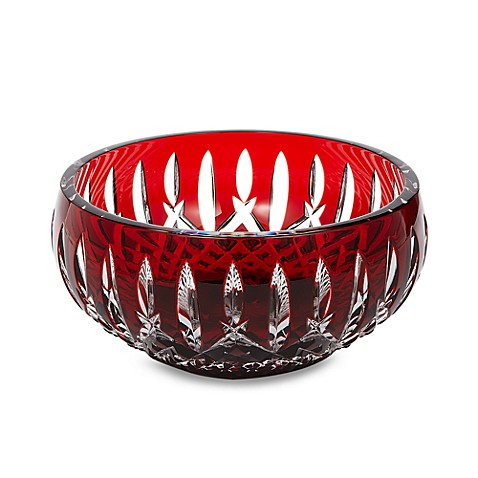 Waterford® Crystal Araglin Prestige Ruby Red 7-Inch Bowl