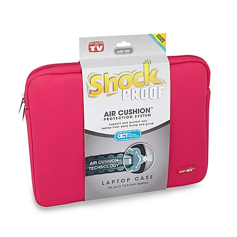 Just Air™ Shock Proof 15.5-Inch Laptop Case in Pink