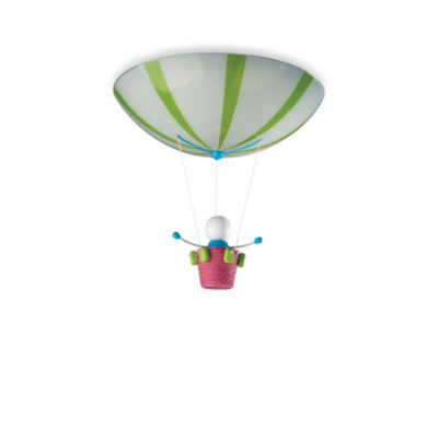 Kidsplace 2-Light Hit Air Balloon Ceiling Lamp