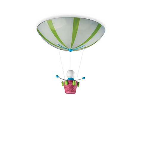 Kidsplace 2-Light Hot Air Balloon Ceiling Lamp