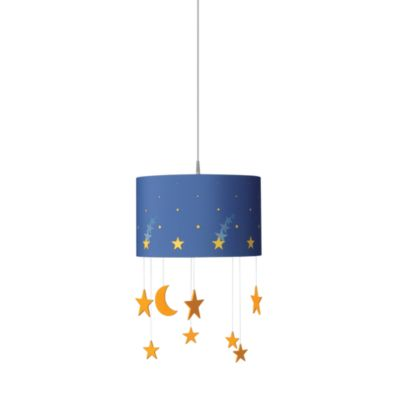 Kidsplace 1-Light Starry Sky Pendant