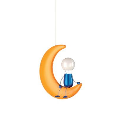 Kidsplace 1-Light Man on the Moon Pendant