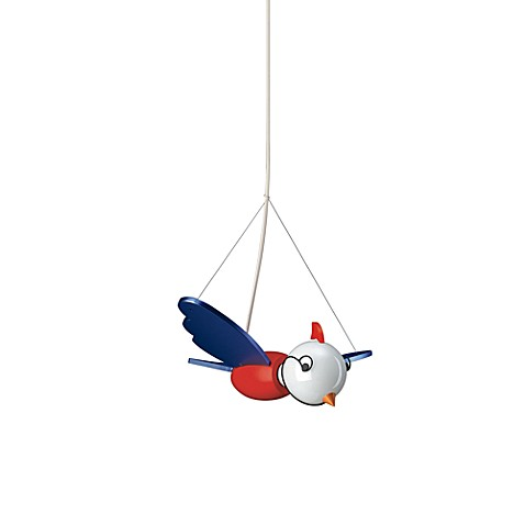 Kidsplace 1-Light Birdy the Bird Pendant