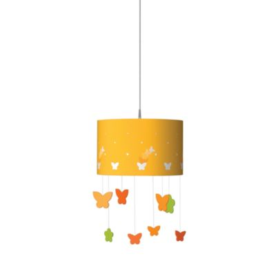 Kidsplace 1-Light Butterfly Mobile Pendant Light
