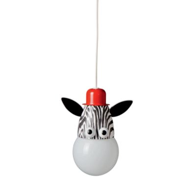 Kidsplace 1-Light Zebra Pendant Light