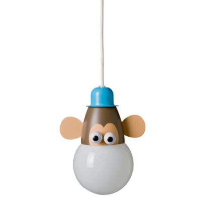 Kidsplace 1-Light Monkey Pendant Light