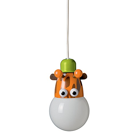 Kidsplace 1-Light Giraffe Pendant Light