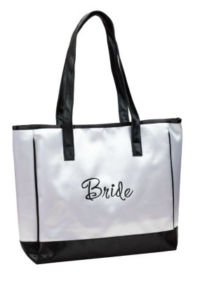Bride White Tote Bag