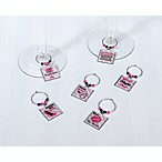 Bachelorette Party 6-Piece Wine Charm Set