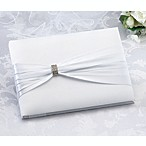 White Sash with Rhinestone Guestbook