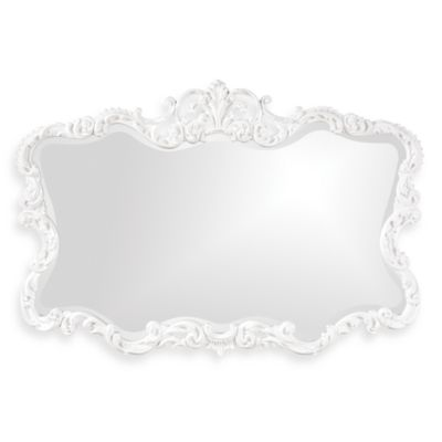 Howard Elliott® Talida Mirror in White