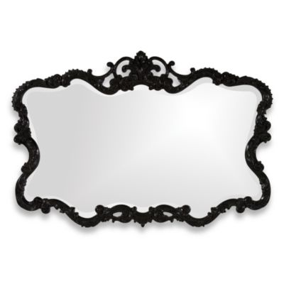 Howard Elliott® Talida Mirror in Black