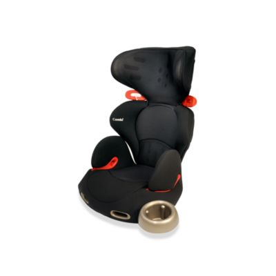 Combi® Kobuk Air-Thru™ Booster Car Seat in Licorice