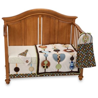 NoJo® Jungle Tales 8-Piece Crib Bedding Set