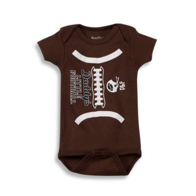 "Sara Kety® ""Daddy's Little Football"" Bodysuit"