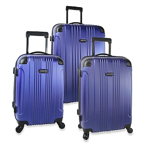 Kenneth Cole Out of Bounds Hardside Spinner Luggage - Cobalt Blue