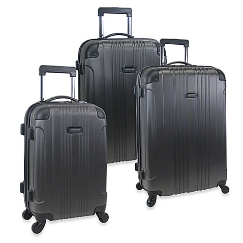 Kenneth Cole Out of Bounds Hardside Spinner Luggage - Black