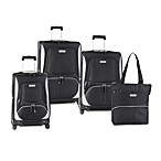 Nautica® Downhaul Black Luggage