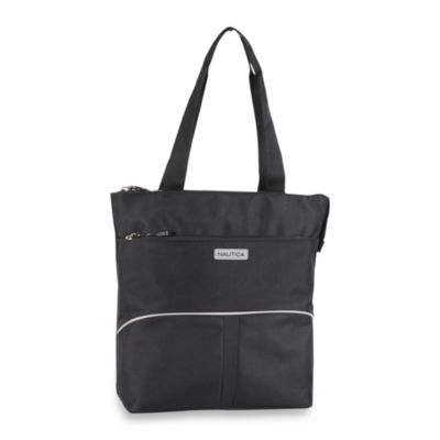 Nautica® Downhaul Black Luggage in Tote