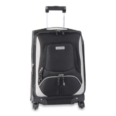 Nautica® Downhaul Black Luggage in 20-Inch Spinner