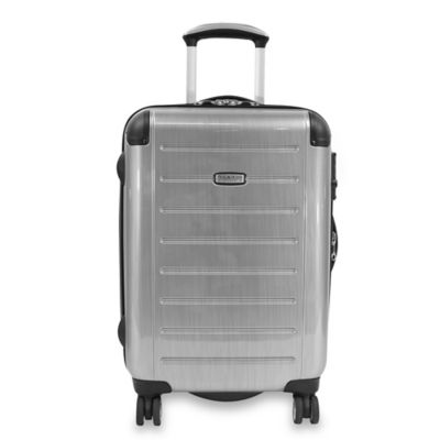 Ricardo® Beverly Hills Roxbury Expandable 21-Inch Spinner Carry-On Luggage in Silver