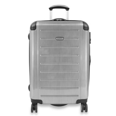 Ricardo® Beverly Hills Roxbury Expandable 25-Inch Spinner Suiter Luggage in Silver
