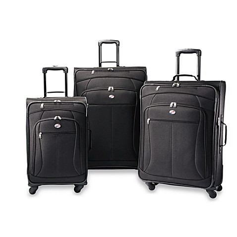 American Tourister® POP Black 3-Piece Spinner Luggage Set