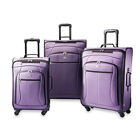 American Tourister® POP Purple 3-Piece Spinner Luggage Set