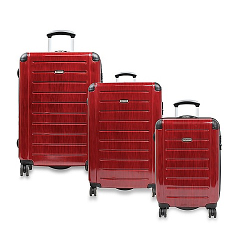 Ricardo® Beverly Hills Roxbury Expandable Spinner Luggage - Red