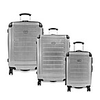 Ricardo® Beverly Hills Roxbury Expandable Spinner Luggage - Silver