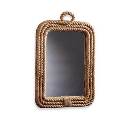 Two's Company® Rope Wall Mirror