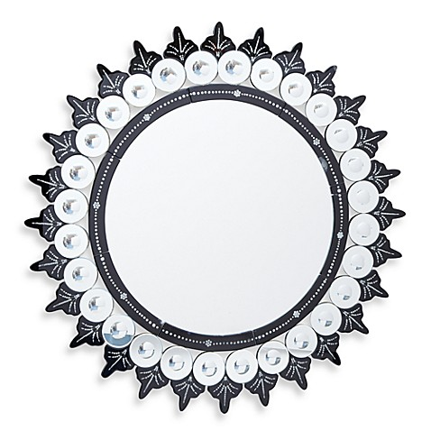 Two's Company® Circle on Circle Wall Mirror