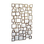 Two's Company® Facets Square Wall Mirror