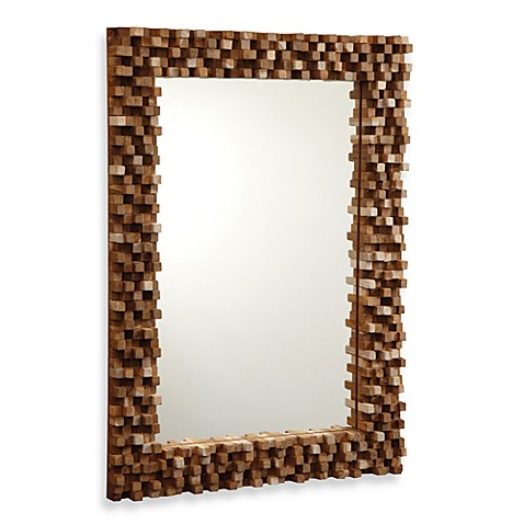 Two's Company® Tozai™ Float Wood Tall Mirror